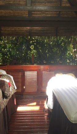 Outdoor Bungalow at the Grand Spa at Tabacon Thermal Resort and Spa